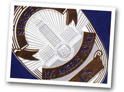 LAPD shield