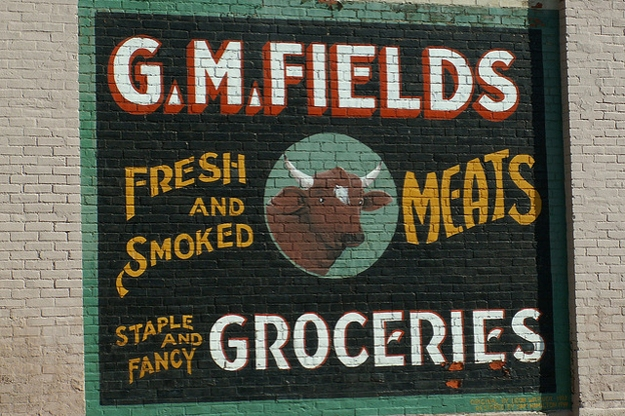 G.M. Fields sign