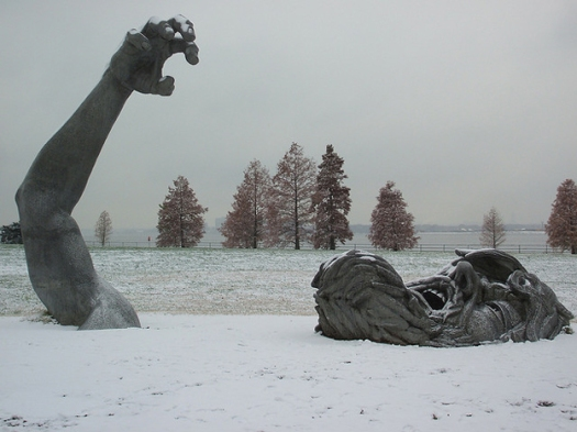 The Awakening, in snow