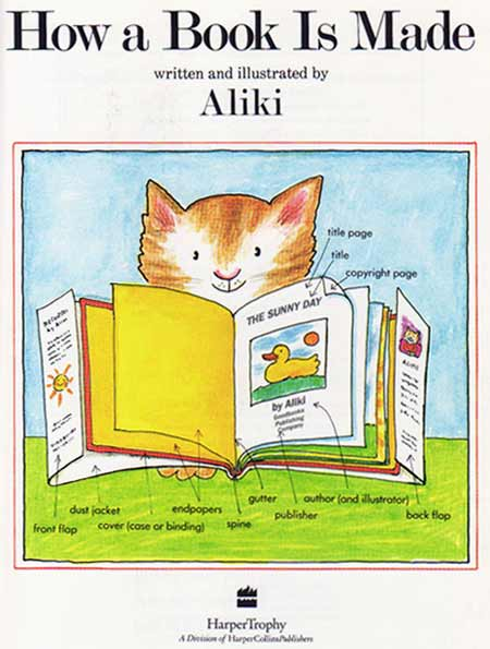 How a Book Is Made, by Aliki