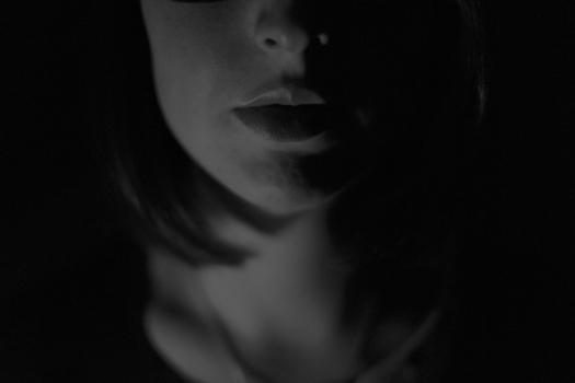 shadowed portrait