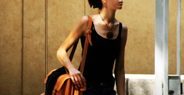 woman with briefcase