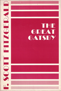 THE GREAT GATSBY by F. Scott Fitzgerald (Scribner)